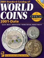 2009 Standard Catalog Of World Coins 2001-Date, 3rd Edition