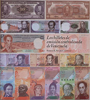 Centralized banknote issues of Venezuela