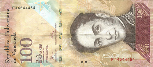 Banknote with Bookend serial number (4 digits), binary serie and 6 digits of-a-kind serial number