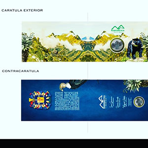 Souvenir cover of the 3rd Numismatic Convention of Merida, May 2019