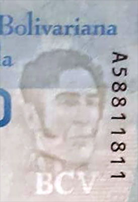 Piece bbcv10000bss-ab01-a8 (Obverse, partial, in front of light)