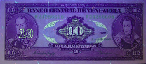 Piece bbcv10bs-eb04-r8 (Obverse, under ultraviolet light)