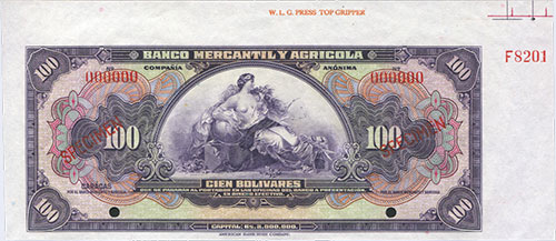 Piece bbma100bs-aap (Obverse)