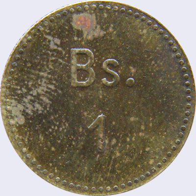 Piece ml1bs-ba01 (Obverse)