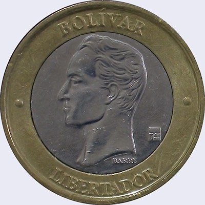 Piece mv1000bs-ba01v2 (Obverse)