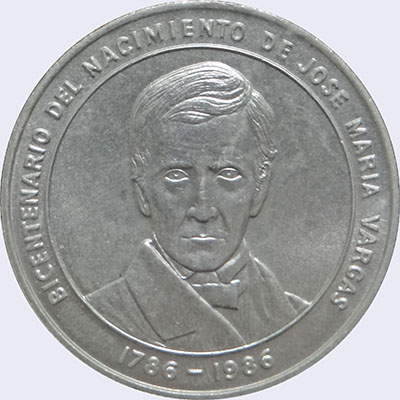 Piece mv100bs-ea01 (Obverse)
