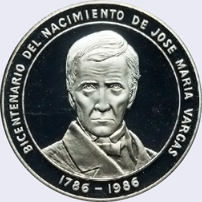 Piece mv100bs-ea01p (Obverse)