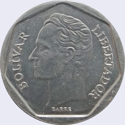 Piece mv100bs-fa01 (Obverse)