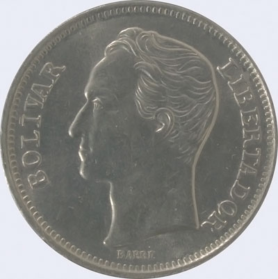 Piece mv1bs-db01 (Obverse)