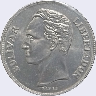 Piece mv5bs-ca01 (Obverse)